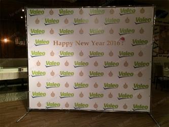 Пресс волл 300х250 на Новый год