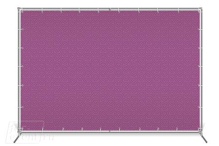 Однотрубный пресс волл Joker - аренда, покупка, печать баннера